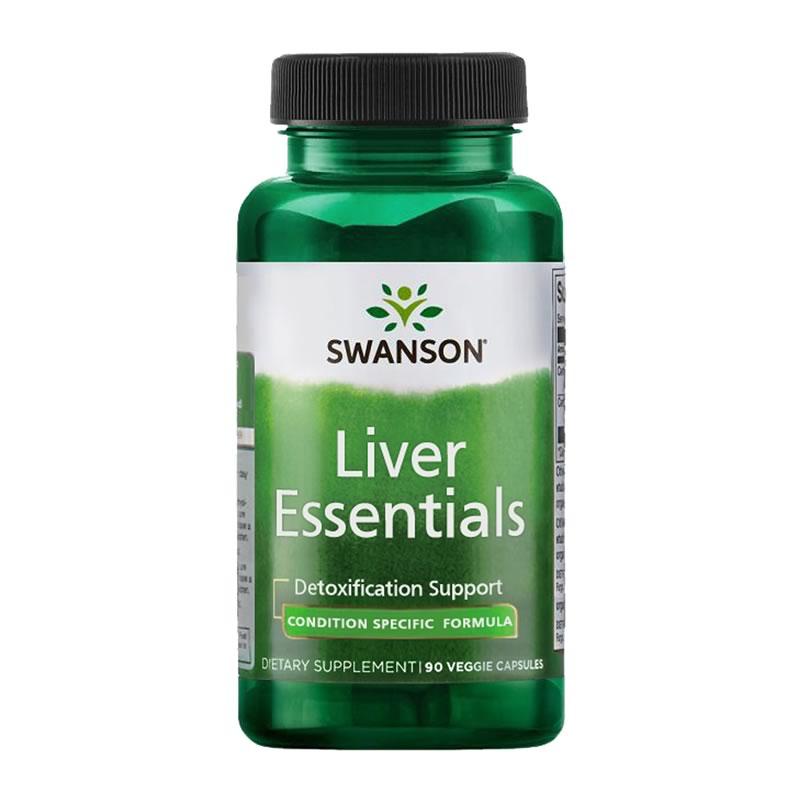 SWANSON LIVER ESSENTIALS 90VCAPS