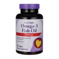 NATROL OMEGA 3 FISH OIL 1000MG 90SGELS