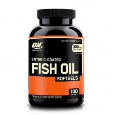 OPTIMUM ENTERIC FISH OIL 100SGELS