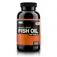 ENTERIC FISH OIL 200SGELS OPTIMUM NUTRITION