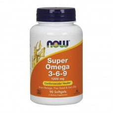 NOW FOODS SUPER OMEGA 3-6-9 1200MG 90SGELS
