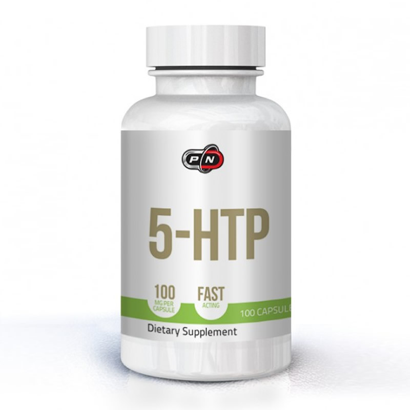 PURE NUTRITION 5-HTP 100MG 100CAPS