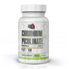 PURE NUTRITION CHROMIUM PICOLINATE 100CAPS 200MCG