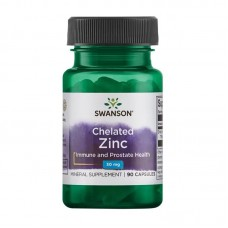 SWANSON CHELATED ZINC 30MG 90CAPS