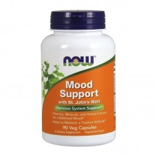 NOW FOODS MOOD SUPPROT WITH ST.JOHN'S WORT 90VCAPS