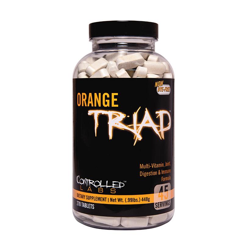 Controlled Labs Orange Triad 270tabs usa version