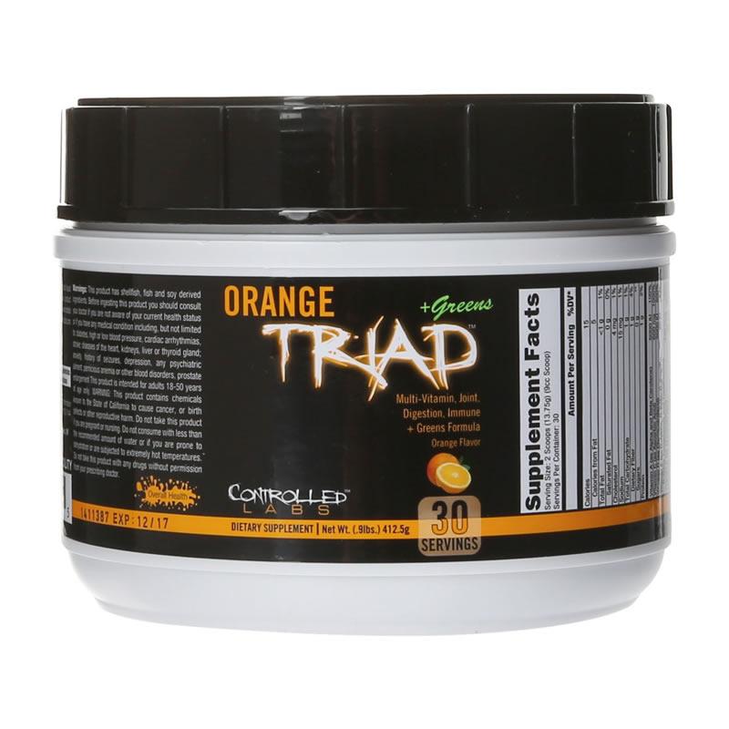 Controlled Labs Orange Triad + Greens 412gr