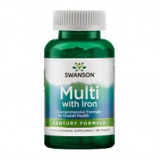 SWANSON CENTURY FORMULA MULTI-VITAMIN WITH  IRON 130TABS