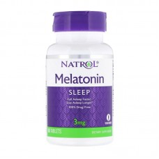 NATROL MELATONIN 3MG 60TABS