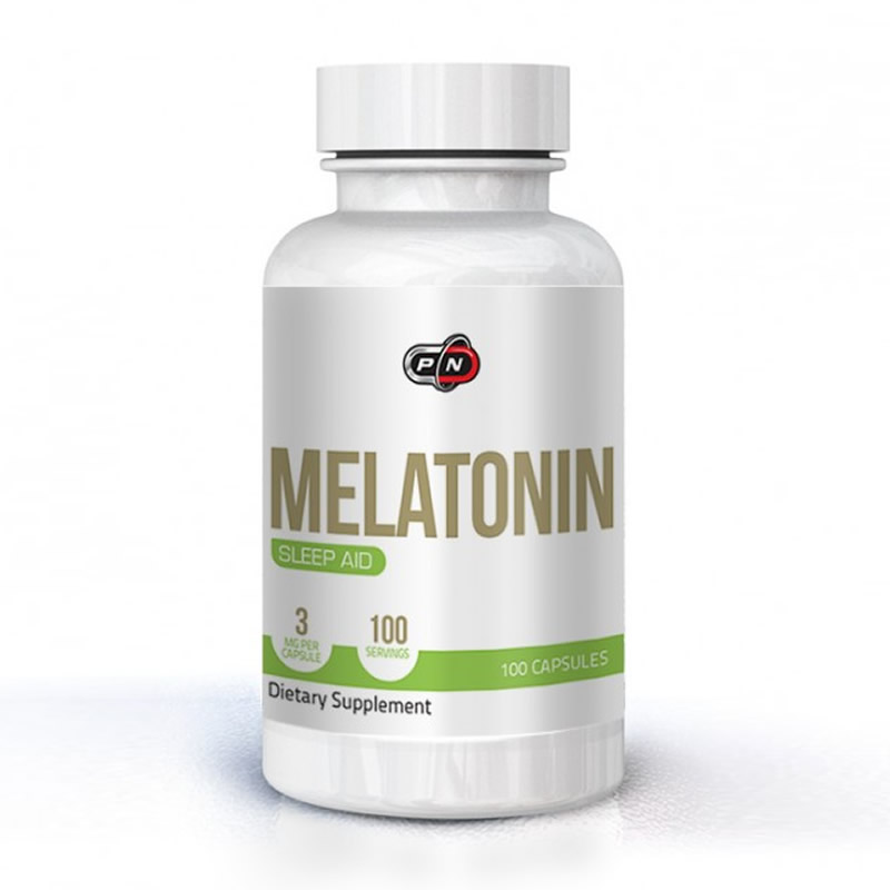 PURE NUTRITION MELATONIN 3MG 100CAPS