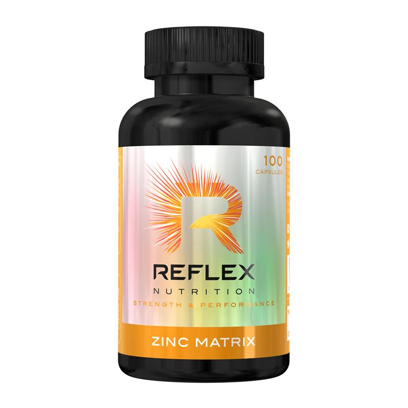 REFLEX ZINC MATRIX 100CAPS