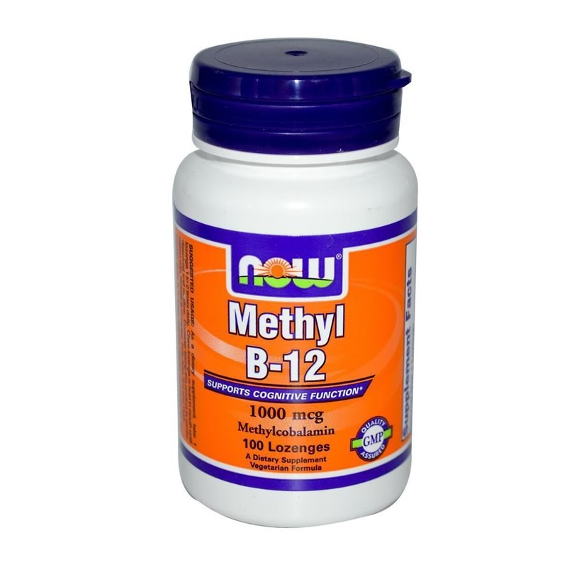 NOW FOODS B-12 1000MCG 100LOZENGES