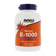 NOW FOODS VITAMIN E-1000 MIXED TOCOPHEROLS 100SGELS